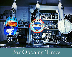 Bar Opening Times